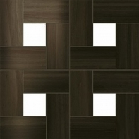 Dark Oak Mosaic Lap